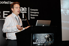 Chris Sumner at Black Hat Abu Dhabi